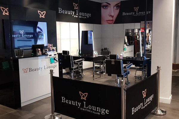 Butterfly Allure at New Look Beauty Lounge - City Banner