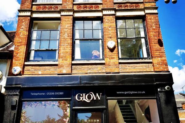 Glow Hair, Beauty & Aesthetics Banner