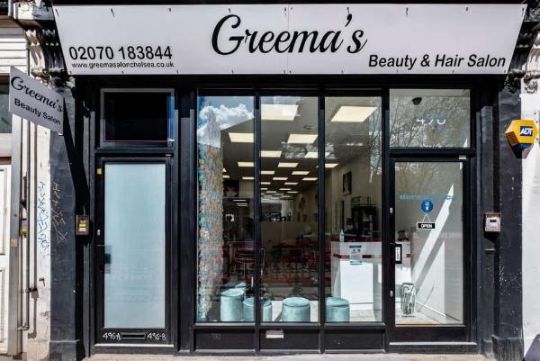 Greema's Beauty & Hair Salon Banner