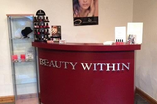 Beauty Within Hair Salon Banner