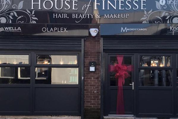 House of Finesse Hair Salon - Urmston Banner