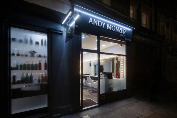 Andy Monzer Hair & Beauty Banner